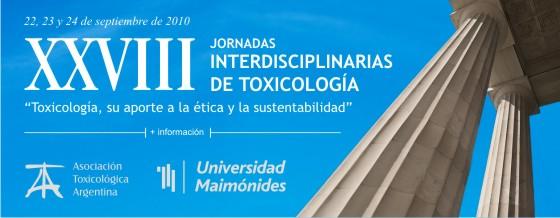 XXVIII Jornadas Interdisciplinarias de Toxicología