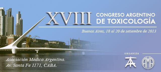 XVIII Congreso Argentino de Toxicología