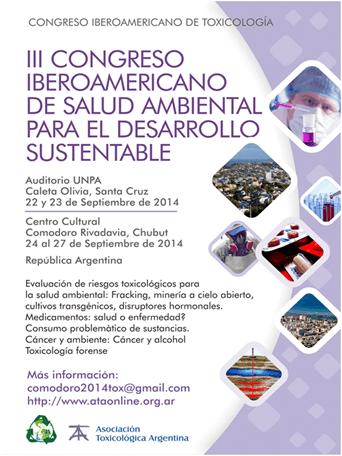 III Congreso Iberoamericano de Salud Ambiental  para el Desarrollo Sustentable