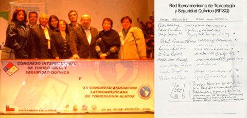 Reunión Promotora de la Red Iberoamericana de Toxicología y Seguridad Química (Chile)