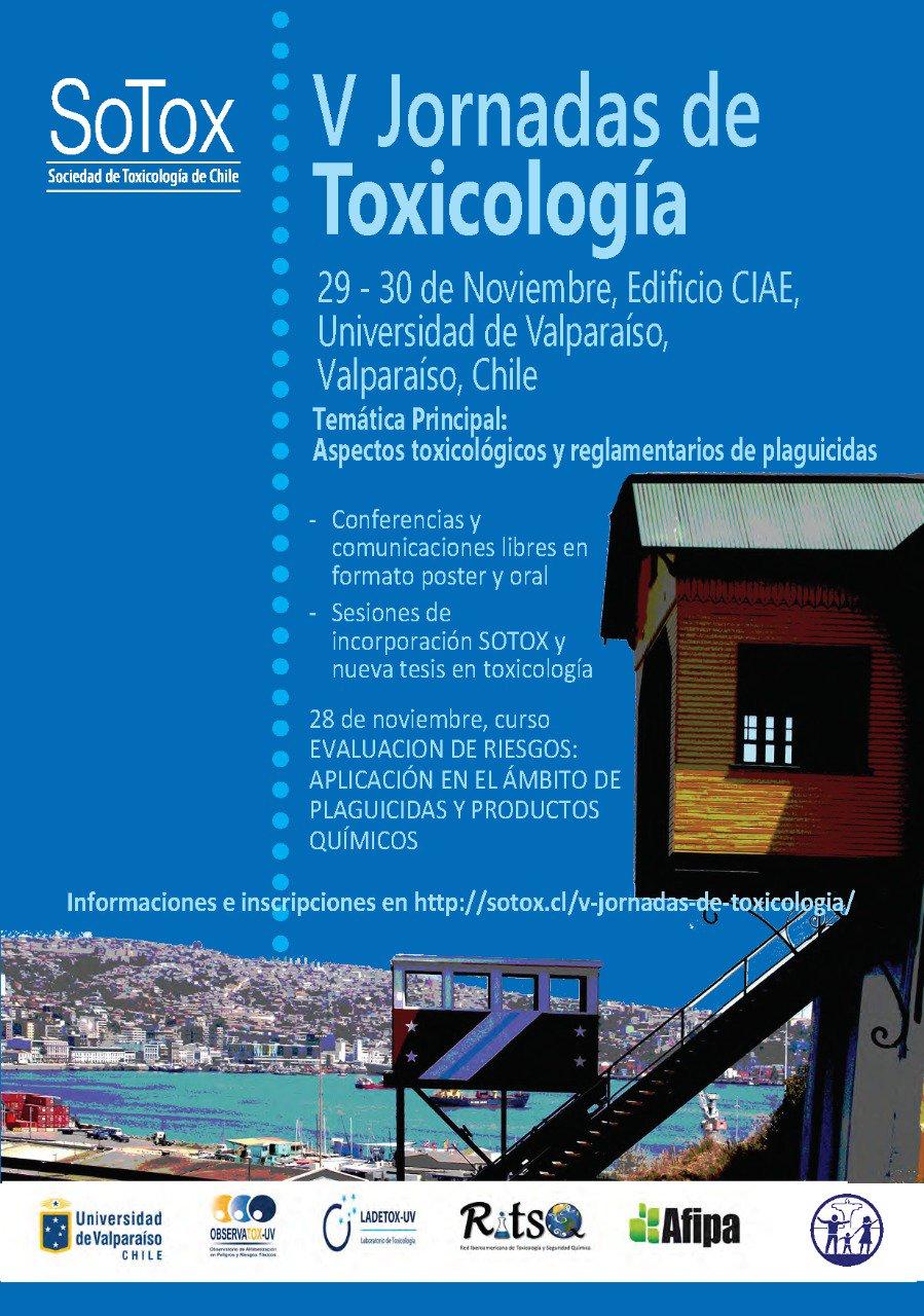 V Jornadas de Toxicología SoTox
