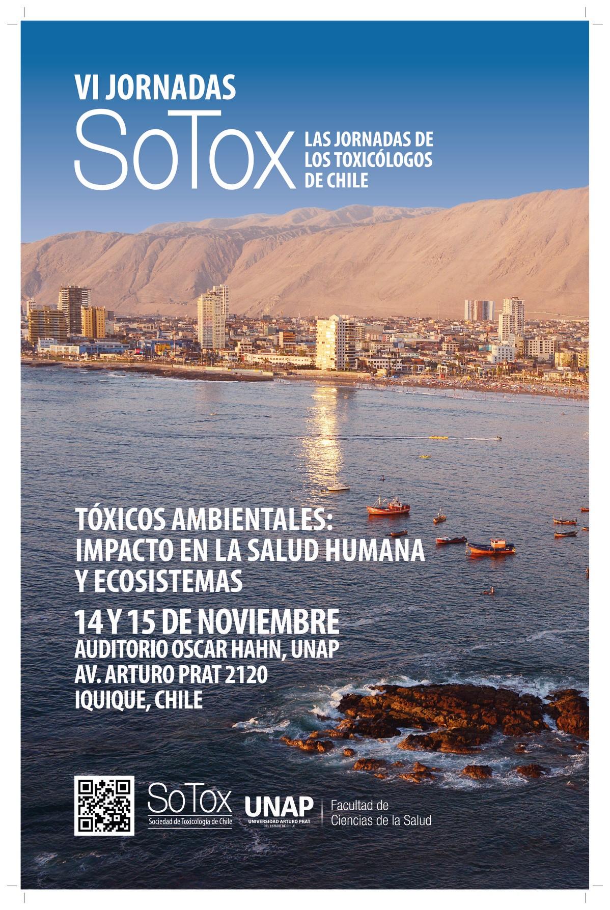 VI Jornadas de Toxicología SOTOX