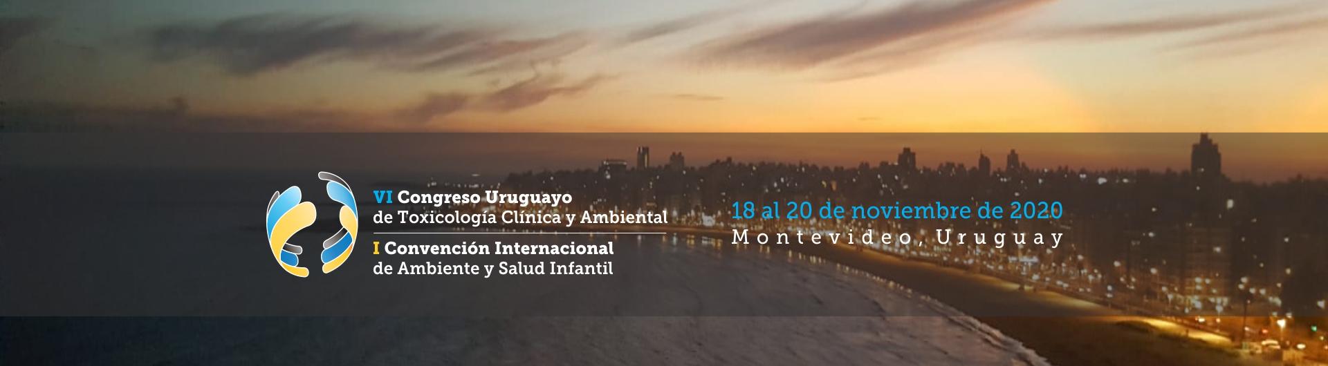VI Congreso Uruguayo de Toxicología Clínica y Ambiental