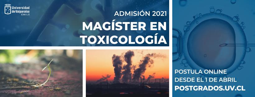 Magíster en Toxicología | Universidad de Valparaíso (Chile)